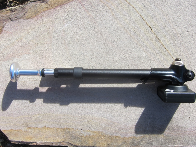 Fox High Pressure Digital Shock Pump Side