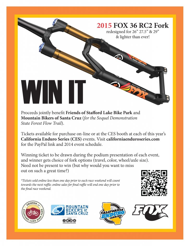 2015 FOX 36 RC2 RAFFLES for Stafford Lake Bike Park & Demo Flow Trail-foxraffle_flyer_press.jpg