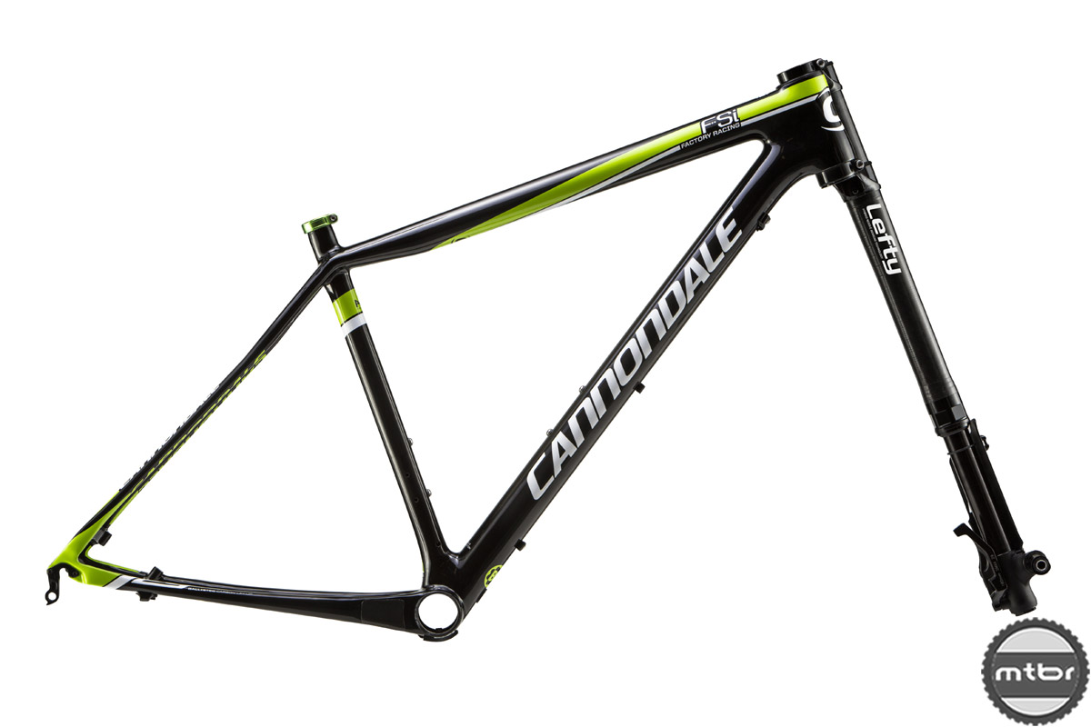 Cannondale F-Si Carbon 29 frame and fork