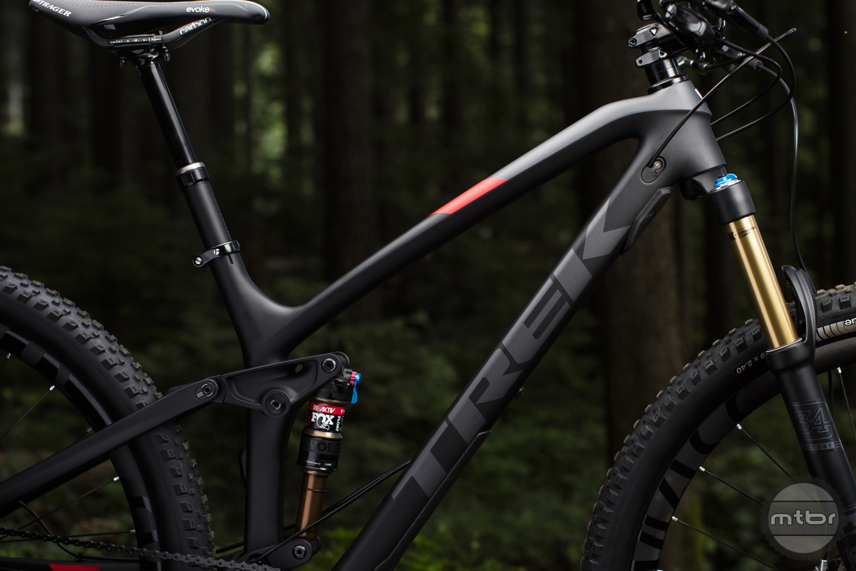 Trek's all-new Straight Shot downtube for increased stiffness