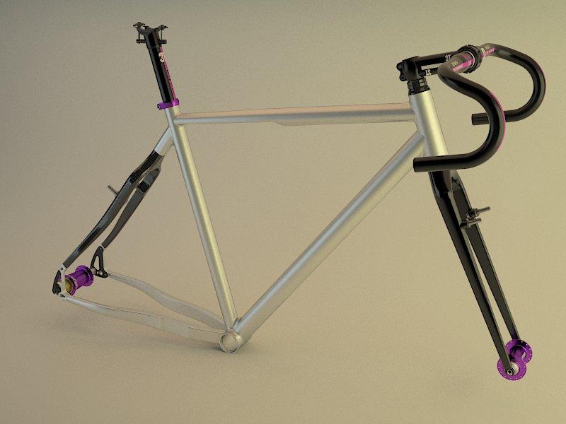 3D bicycle and frame design-frame5.jpg
