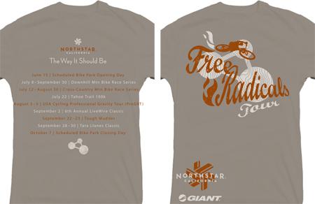 free radicals shirts
