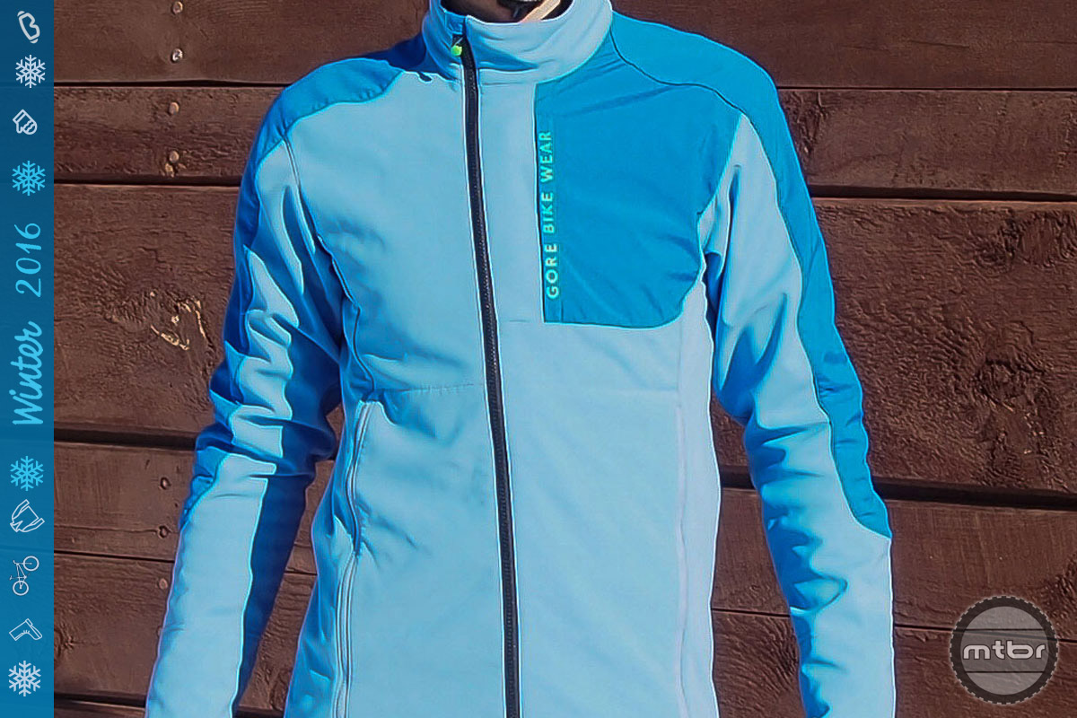 Gore Power Trail Windstopper Soft Shell Jacket
