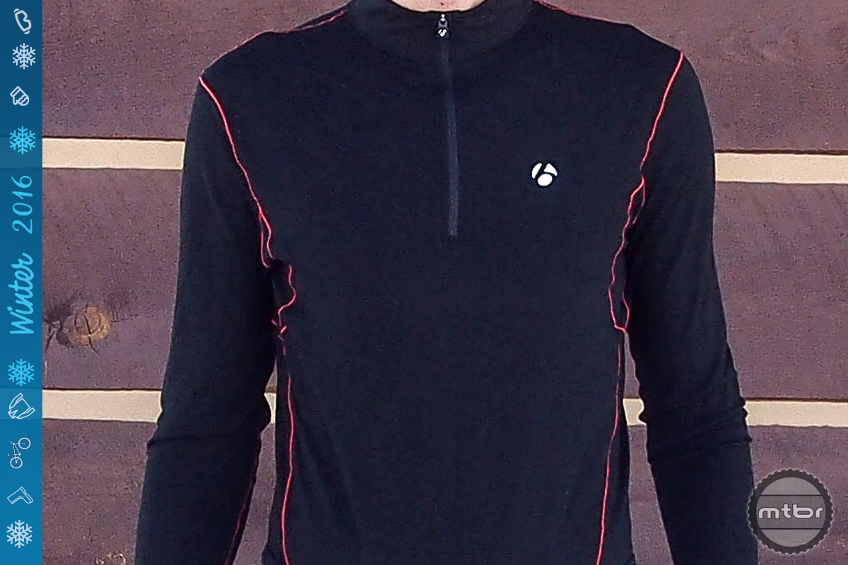 Bontrager B3 1/4 Zip Long Sleeve Baselayer
