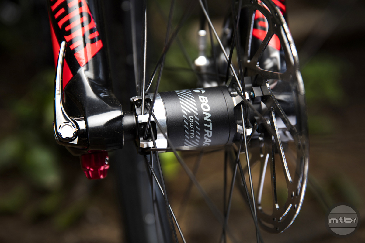 The latest Bontrager wheels and other components have really stepped up to take the Remedy to a very high bar.