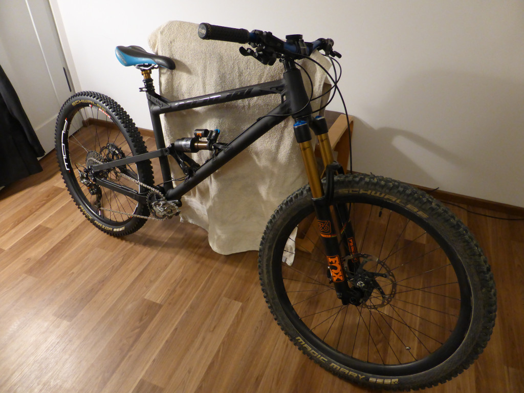 Nicolai/Mojo GeoMetron build/riding/Development Thread-front-view.jpg