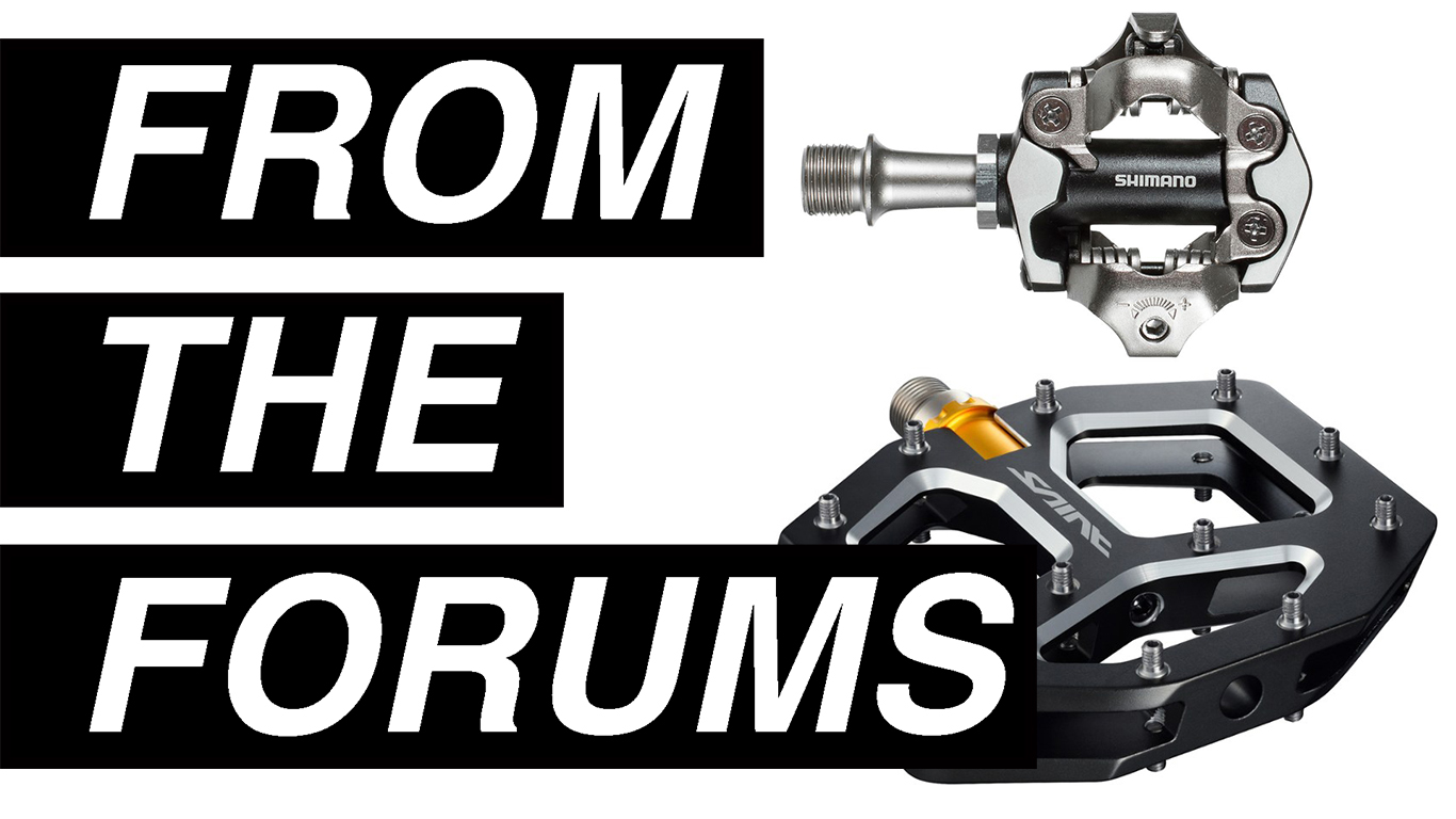 Are clipless pedals or flats better for mountain biking?