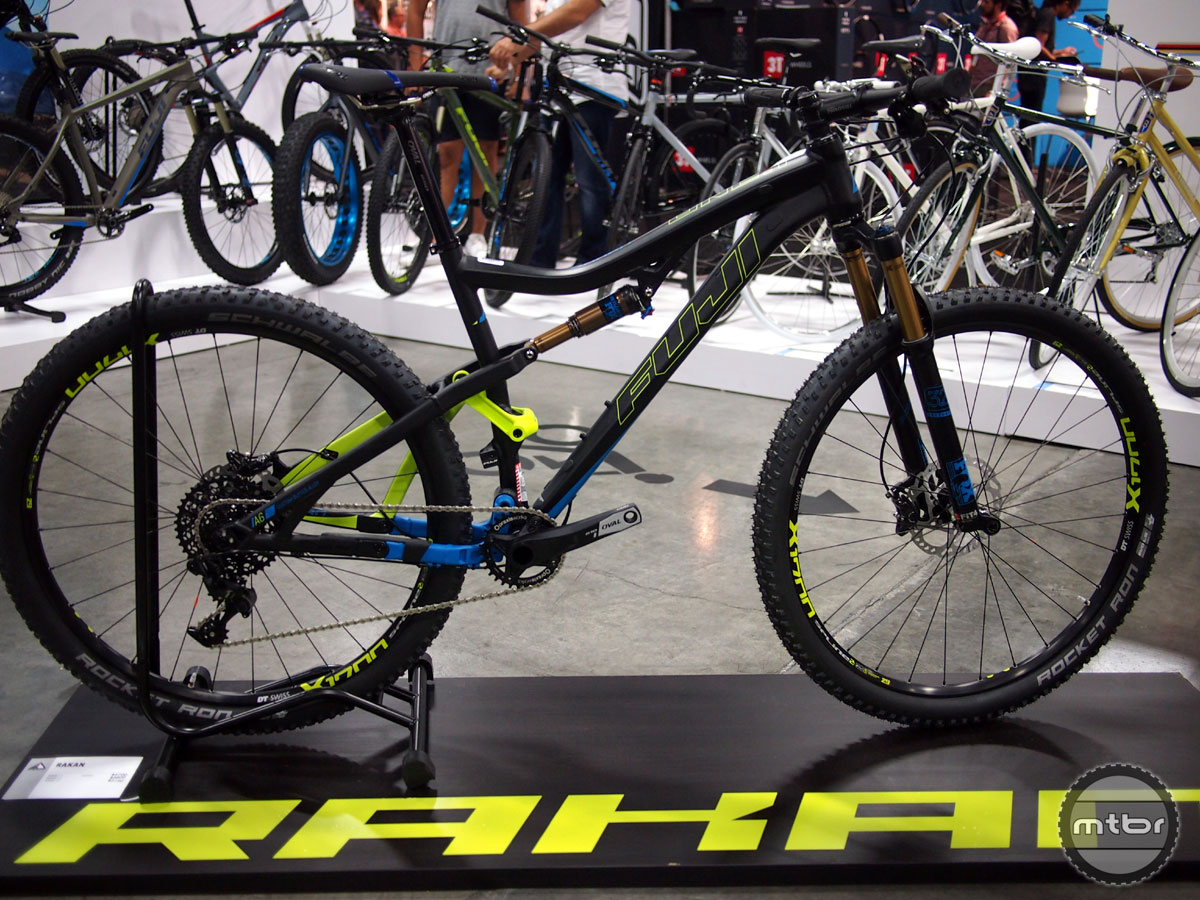 The Rakan's frame is Fuji's A6-SL alloy which is their top of the line lightweight, butted aluminum.