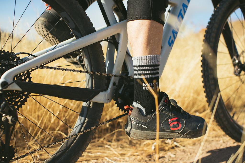 You can never pack too many mountain bike socks.