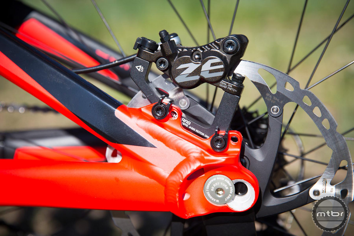 2015 Scott Gambler 710 adjustable dropouts