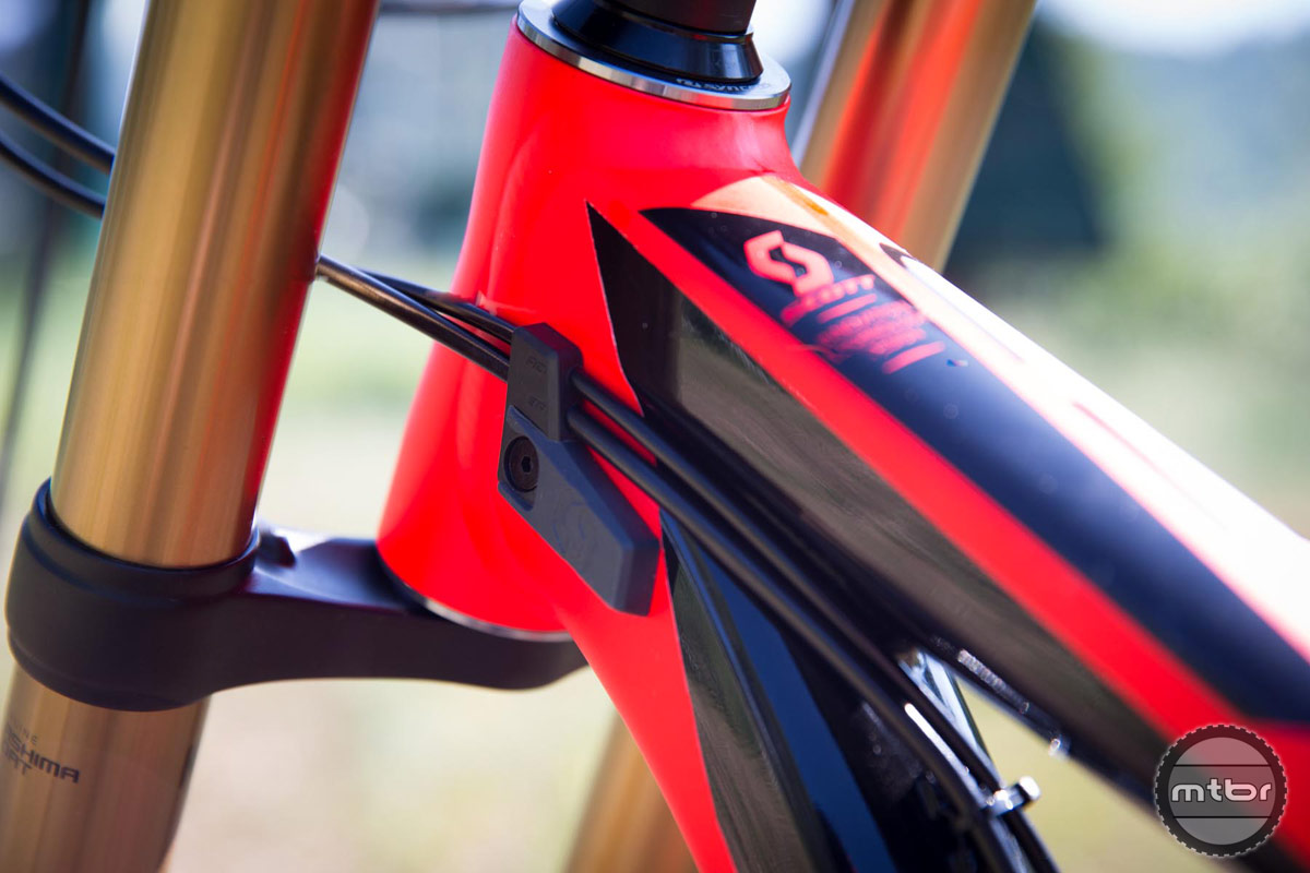 2015 Scott Gambler 710 cable routing