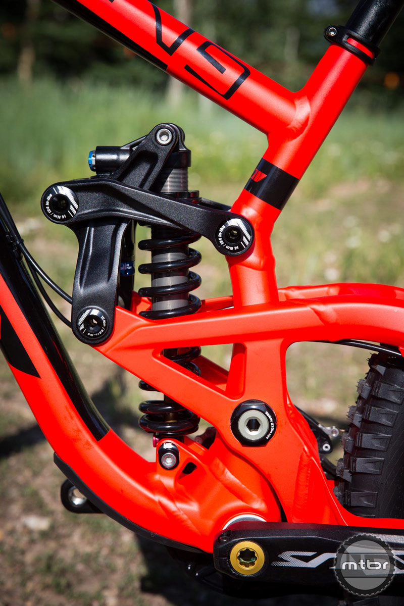 2015 Scott Gambler 710 rear shock mount