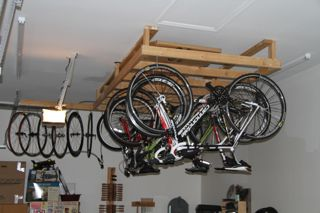 Garage Bike Storage Interior Design