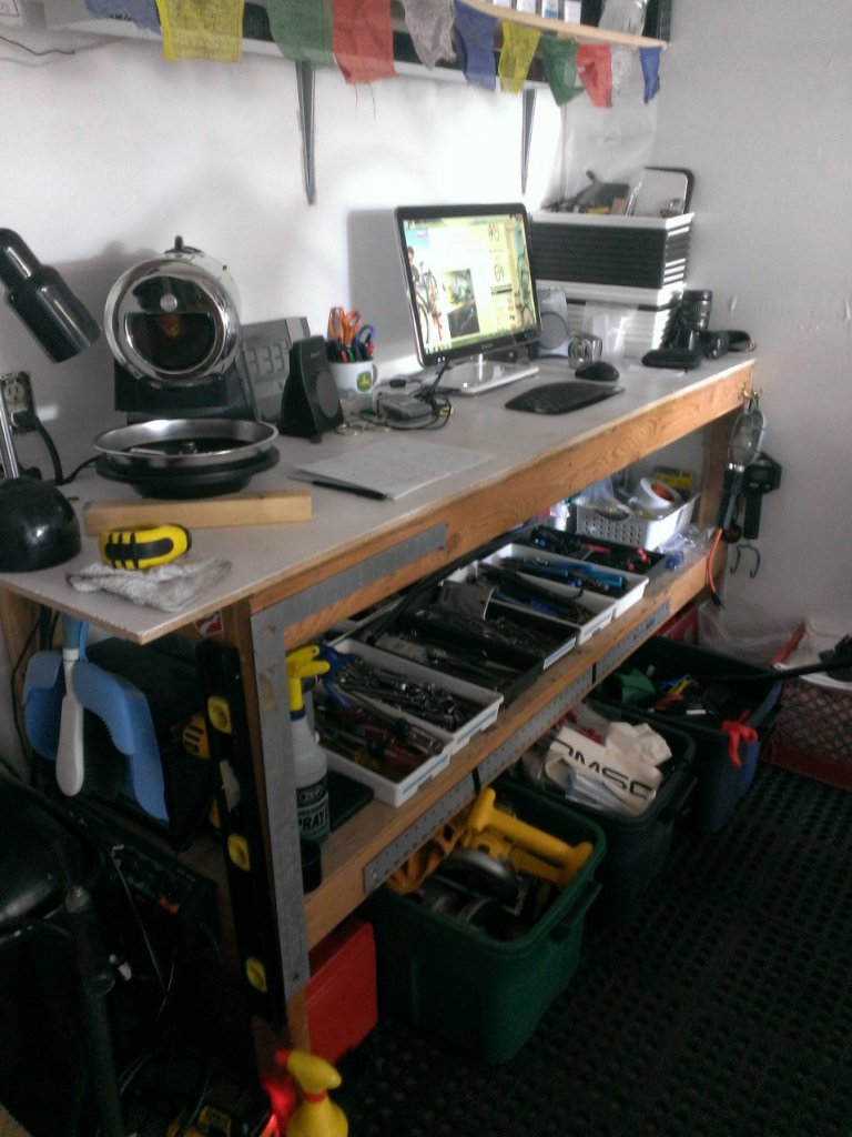 Tool Storage What Do You Use For Your Bike Shop Garage