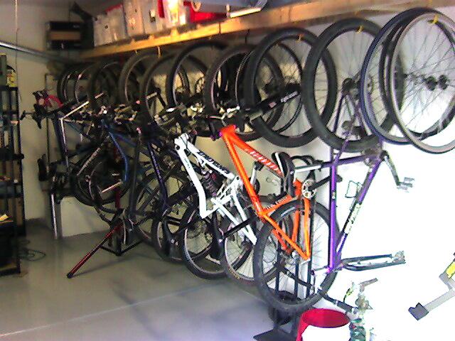 garage bike rackjpg - Garage Bike Rack