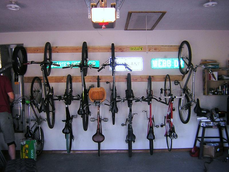 Bike Storage In Condo Lots Of Bikes Mtbr Com
