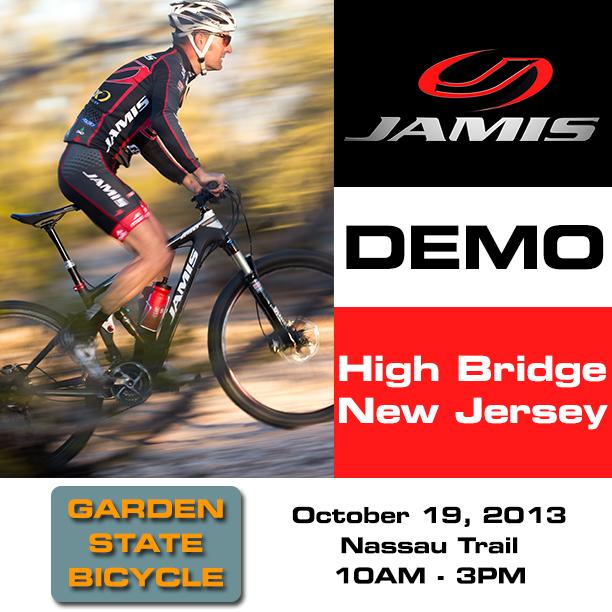 Jamis Bikes Demo @ Nassau Trail-gardenstatedemo.jpg