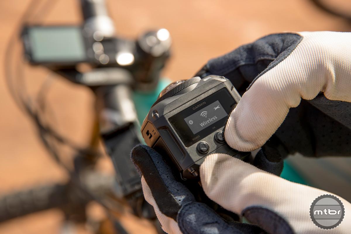 Garmin Virb 360 Controls