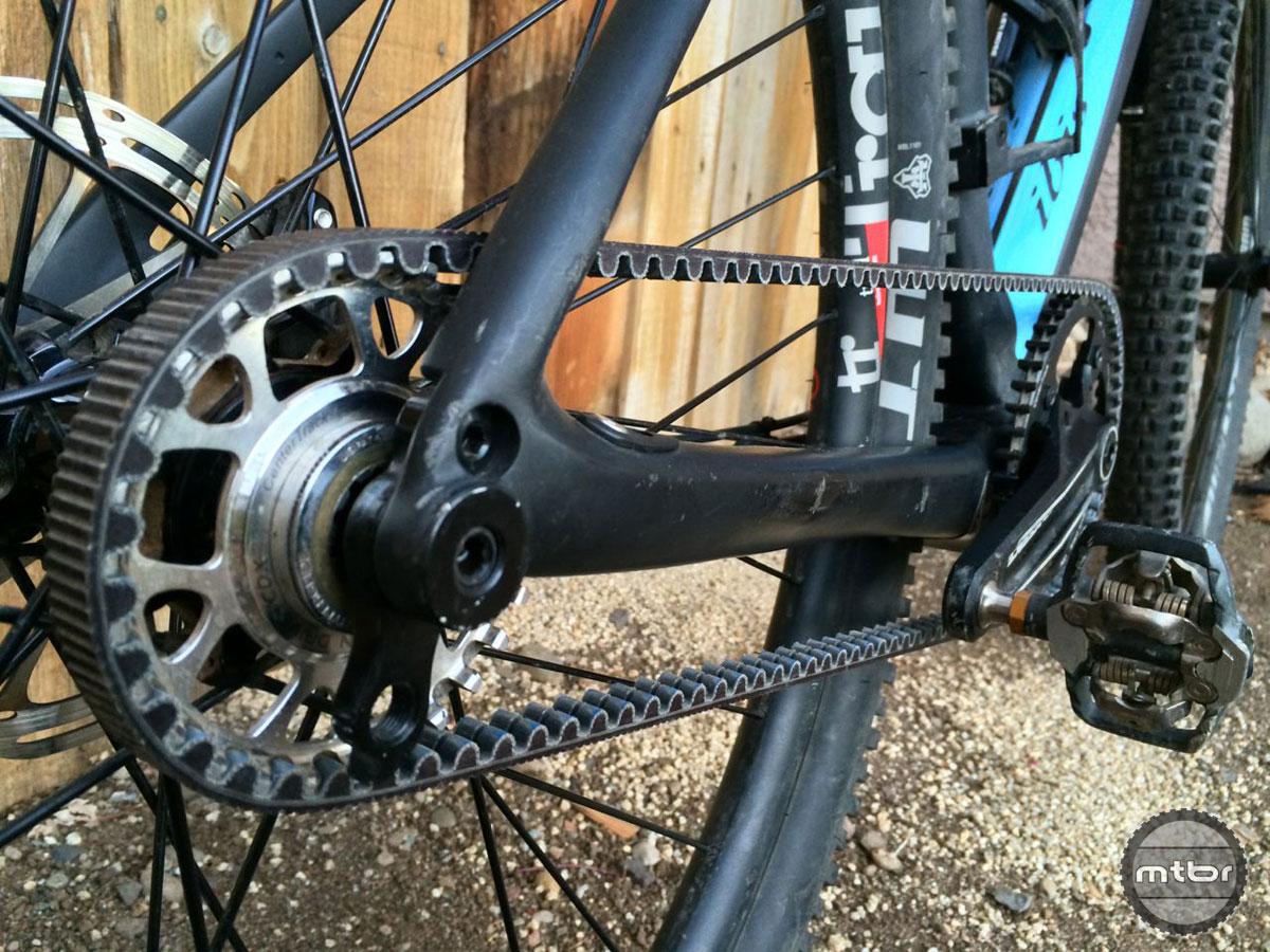 Belt Drive Bike >> Gear Review Gates Carbon Belt Drive System Mtbr Com