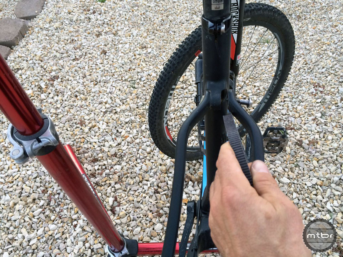 Because the belt is continuous and cannot be broken and re-fixed like a traditional chain, a bike with a chainstay or seat stay slot is required to install the Gates drive.