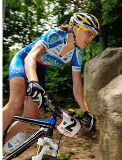 Georgia Gould's win at the Subaru Cup solidified her lead atop the Pro XCT women's standings. (Photo by Dave McElwaine)