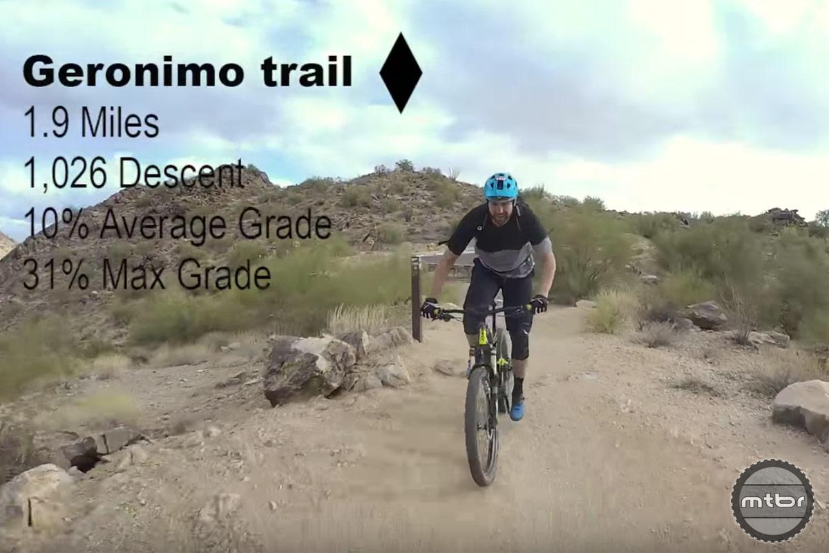 Jeff Lenosky Takes on Geronimo
