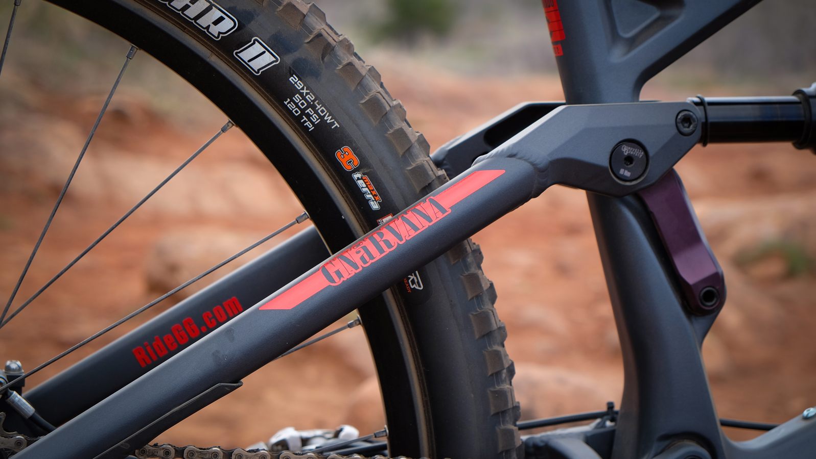 The Gnarvana is the fifth bike built around the brand's Revved carbon front end.