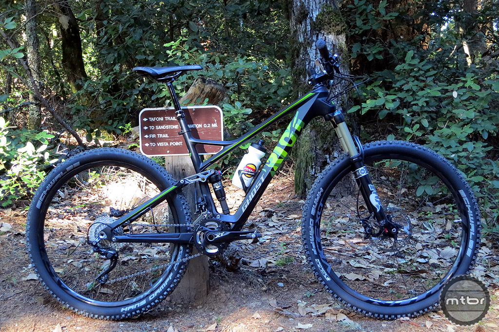 The Ghost bike brand may be a new one to US consumers, but the company has been cranking out well-regarded product for years in its home country of Germany. Staring in January Ghost will begin US distribution exclusively through outdoor retailer REI. We got our hands on a tester this week—the 130mm-travel Ghost Riot 7LC—and are intrigued by its dual linkage configuration. We'll let you know what we think of this after we get a few more rides under our belt.