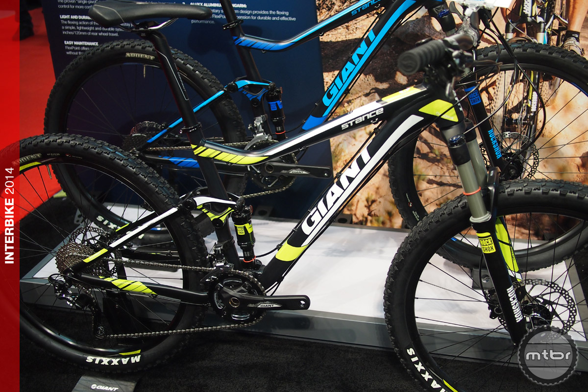Interbike: Giant Stance 27.5 offers full suspension mountain bikes ...
