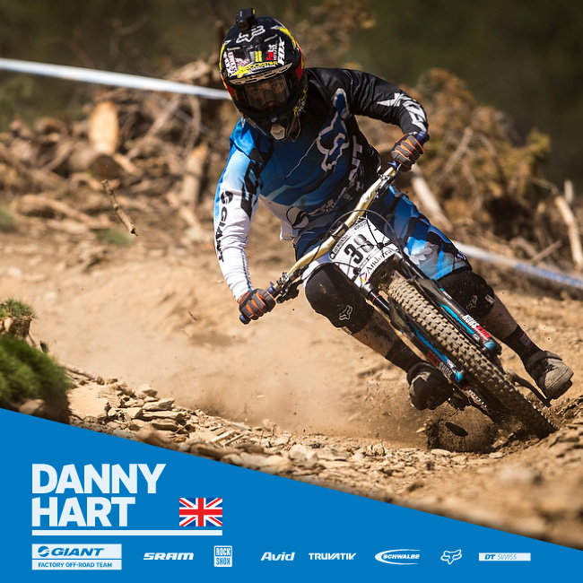 Giant Bicycles Danny Hart