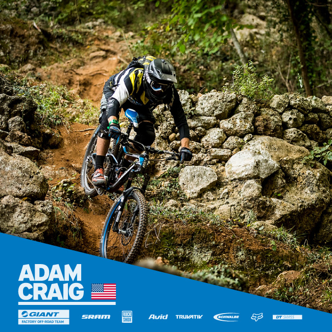 Giant Bicycles Adam Craig
