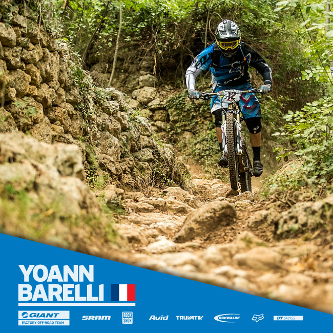Giant Bicycles Yoann Barelli