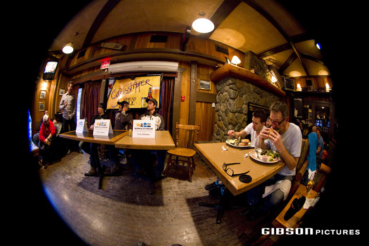 location: The Drake Pub, Canmore, AB, Canada