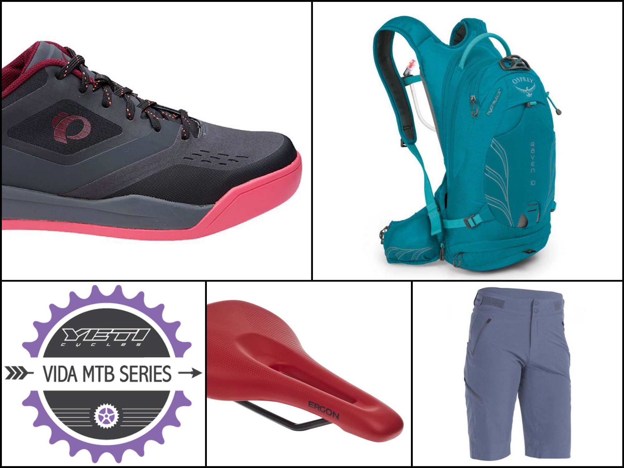 Gift ideas for female mountain bikers