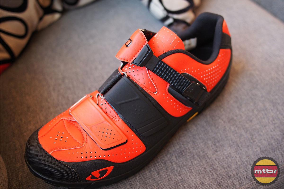 Giro Terraduro Shoe Top View