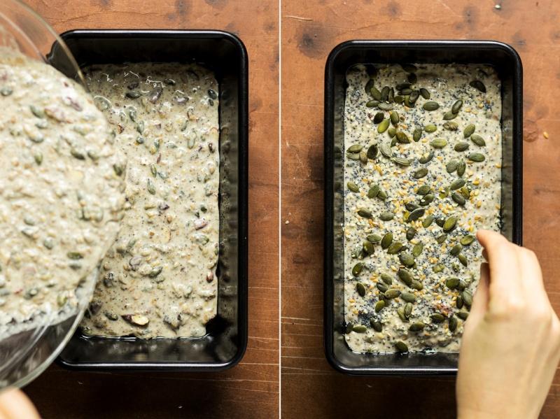 Vegetarian / Vegan / Raw recipes & chat-gluten-free-multiseed-bread-making-800x599.jpg