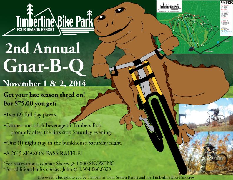 Timberline Bike Park- November closing weekend-gnarbq-flyer-2014.jpg