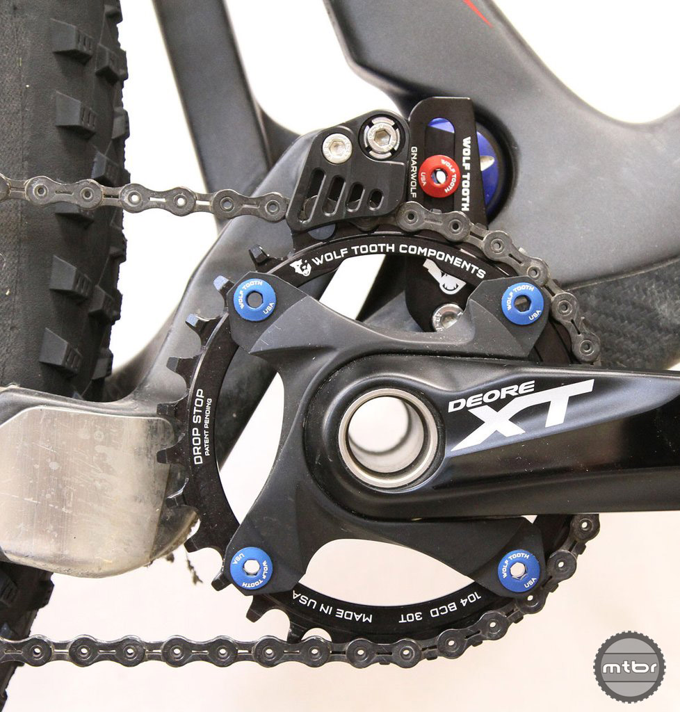 Wolf Tooth Gnarwolf Chain Guide First Look Mtbr Com