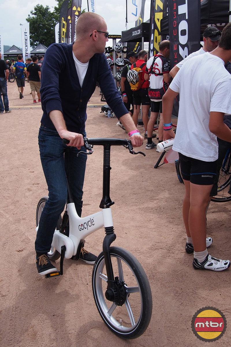 GoCycle G2R Electric Folding Bike