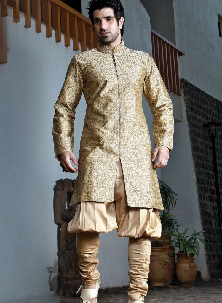 This Thread is all about Bridges-gold-poly-jute-jacquard-bridges-kurta.jpg