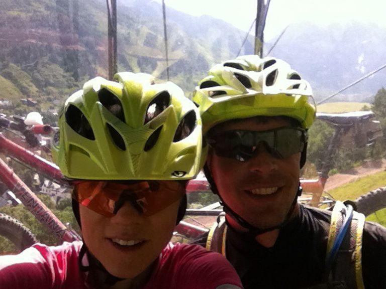 Tandem on the Telluride Gondola-gondola.jpg
