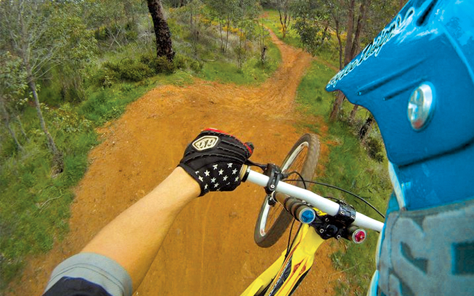 GoPro Hero3 Bike MTB Double