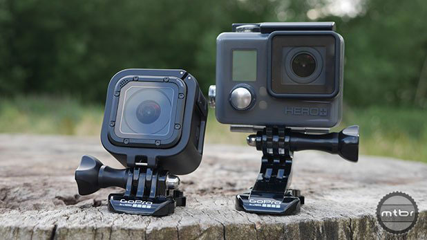 The new GoPro HERO4 Session is now shaped like a cube and is much more convenient to mount anywhere.