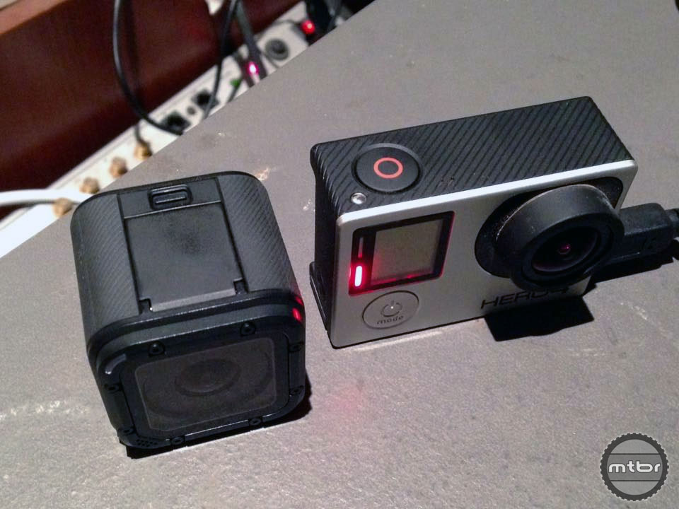 The HERO4 Session does not appear to be 50% smaller than the Silver.