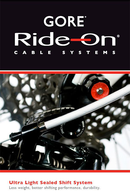 Gore Ride On Shift Cable System