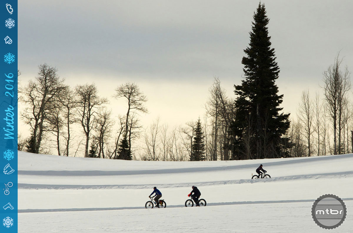 Resorts such as Wyoming's Grand Targhee are grooming fat bike specific trails in the winter.