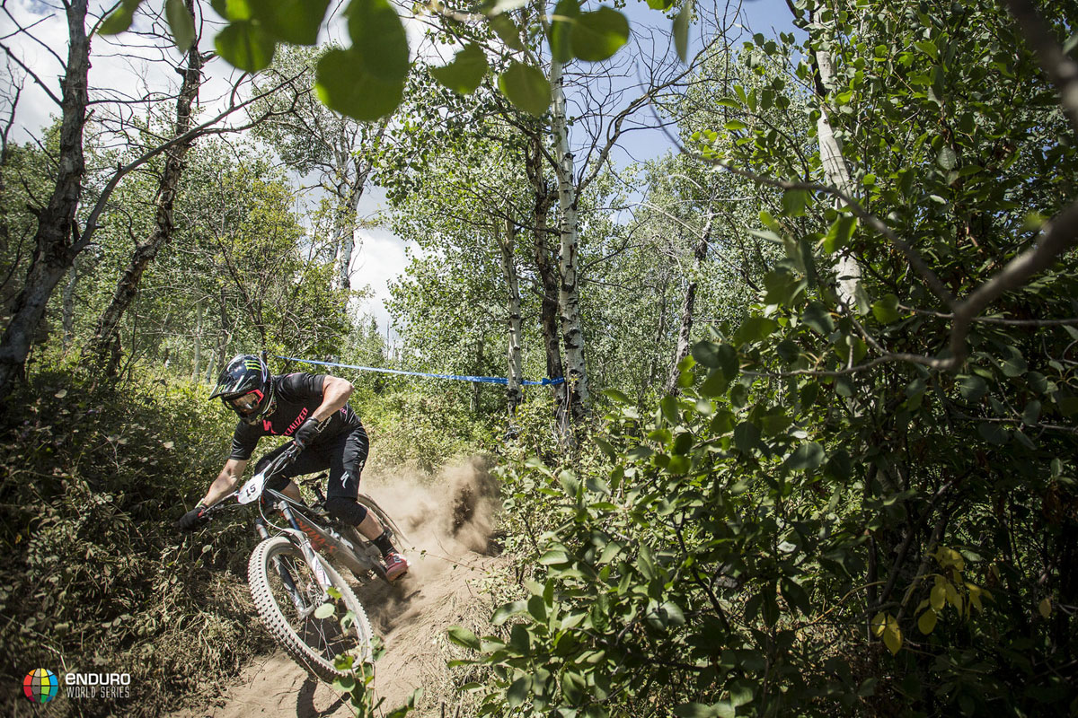 Graves was unstoppable in Aspen, sweeping the first five stages on his way to a convincing win. Photo courtesy Enduro World Series