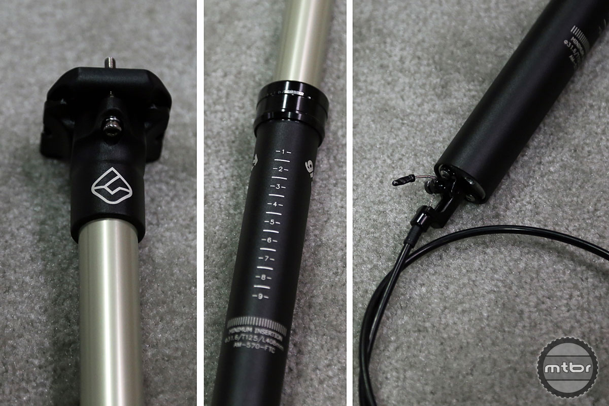 At $300, the new Gravity dropper will be one of the more affordable options on the market when it's released next year.
