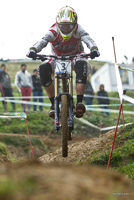 Greg Minnaar Worlds, MTB, Leogang, 2012, World Champs