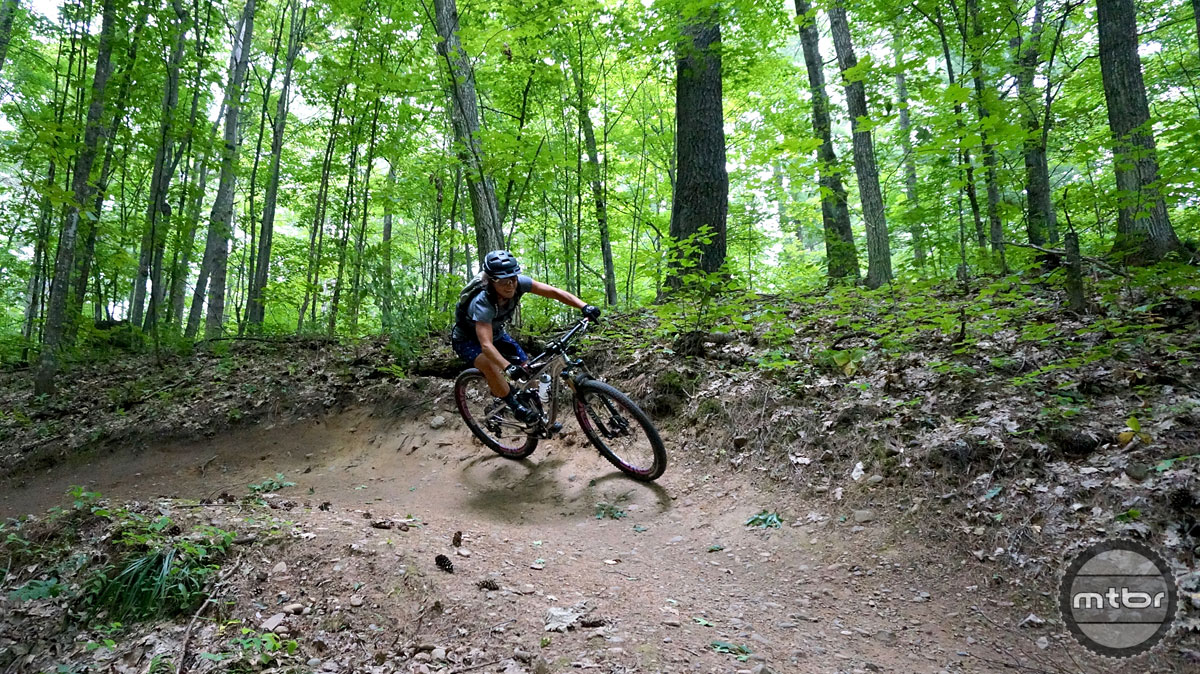 Up and down and back and forth trails around Cable keep riders occupied with the constant undulation through the beautiful Northwoods.